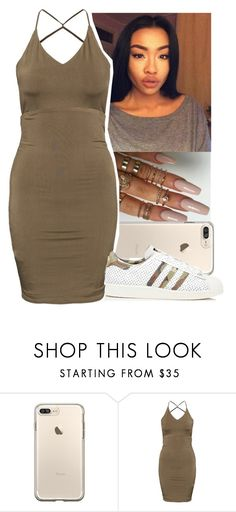 """""""😌"""" by aribearie ❤ liked on Polyvore featuring adidas"""