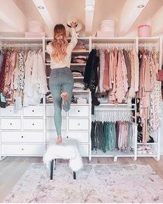 Closet goals ❤️ Via @fashiongoalsz  By @anajohnson___ 💕