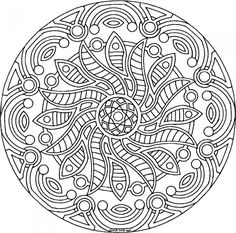 free printable mandala coloring pages for adults   Adult Coloring ...