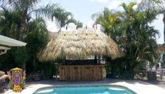Our Portfolio - Big Kahuna Tiki Huts Outdoor Tiki Bar, Outdoor Decor, Tiki Bar Stools, Tiki Hut, New England, The Neighbourhood, Restaurants, Palm, Florida