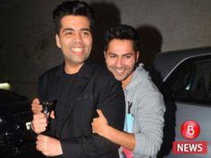 Heres something about Varun Dhawan that worries Karan Johar!