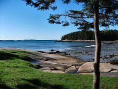 Birch Point Beach State Park, Owl's Head, Maine