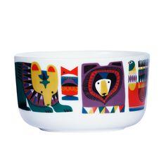 Marimekko pattern. Ceramic products.