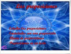 """Las preposiciones"" (Lengua Española de Primaria) Movies, Movie Posters, Spanish Language, Teaching Resources, Learning, Words, Film Poster, Films, Popcorn Posters"