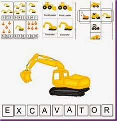 Mike Mulligan Tie In Activity - has ideas for hands on / sensory play with construction trucks as well as a printable packet