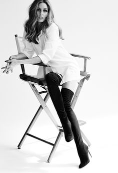 First look: Olivia Palermo x Aquazzura #overknees #love