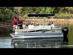 Spacious, stylish and well appointed, Lowe's all-new Retreat luxury & sport pontoon is your oasis on the water. Enjoy more time on the water! Fishing Boats For Sale, Pontoons, Look At The Stars, Pontoon Boat, Water Crafts, Rifles, Luxury, Sports, Hs Sports