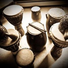 Teach myself to play the african drum that I bought for myself for my 40th birthday