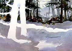 Jim's Watercolor Gallery - Watercolor Landscapes excellent tutoring