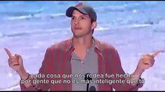 Ashton Kutcher discurso de motivación