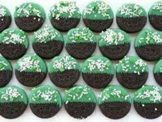 St. Patricks Day treat. No link, but inspiring idea... Chocolate dipped Oreos. Maybe use a little Irish whiskey in the chocolate??? :-)