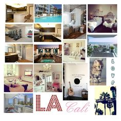 """""""Moving to Cali"""" by broken-and-alone on Polyvore featuring interior, interiors, interior design, home, home decor and interior decorating"""