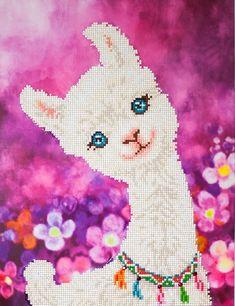 3pc Learn-A-Craft Bundle Llama /& Owl Dimensions Felt Applique Kit for Beginners Unicorn