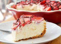 Strawberries and Cream Pie Recipe - RecipeChart.com
