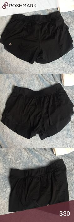 LULU Shorts Extremely comfortable lulu shorts, women's size 4. Worn a few times and always washed per lulu instructions! Tag still attached. Bundle and save with other items! lululemon athletica Shorts