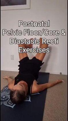 Post Baby Workout, Post Pregnancy Workout, Prenatal Workout, Mommy Workout, Fitness Workout For Women, Sport Fitness, Fitness Workouts, Pregnancy Fitness, Exercices Diastasis Recti