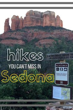 Sedona is a outdoor lovers dream! Grab your hiking boots and a camera, and check out the Sedona hikes you can NOT miss!
