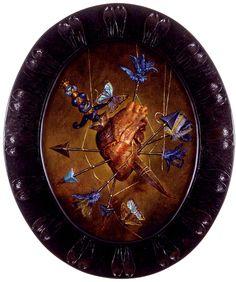 Blue heart – Thomas Woodruff