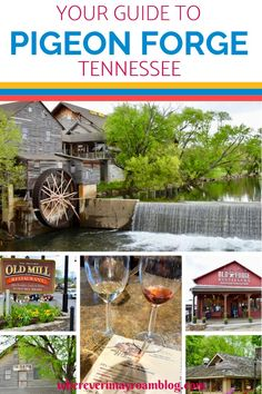 Here is your travel guide to Pigeon Forge, Tennessee, a family-friendly destination with plenty to do, great food, & beautiful Smoky Mountains scenery. Gatlinburg Vacation, Gatlinburg Tennessee, Tennessee Vacation, Mountain Vacations, Family Vacation Destinations, Vacation Ideas, Family Vacations, Travel Destinations, America