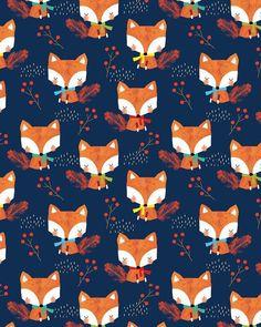 ❁❀Epinglé par CM ❃✿Alex Willmore - alternative version of autumn fox (Pattern) Tier Wallpaper, Fall Wallpaper, Animal Wallpaper, Pattern Wallpaper, Wallpaper Backgrounds, Iphone Wallpaper, Wildlife Wallpaper, Trendy Wallpaper, Textures Patterns