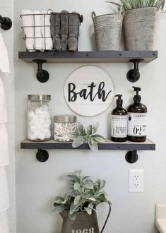 If you are looking for Small Bathroom Decor Ideas, You come to the right place. Below are the Small Bathroom Decor Ideas. This post about Small Bathroom Decor Ideas was posted under the Bathroom categ. Small Bathroom Storage, Bathroom Design Small, Diy Bathroom Decor, Diy Home Decor, Bathroom Designs, Wall Storage, Bathroom Organization, Organization Ideas, Budget Bathroom