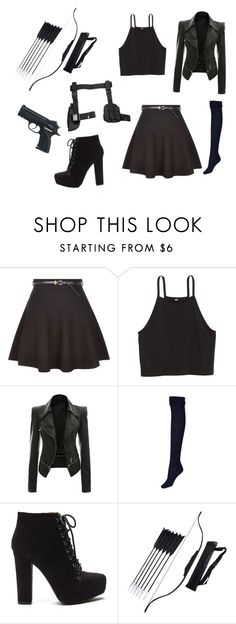"""""""Weaponized"""" by crystalalpha ❤ liked on Polyvore featuring New Look"""