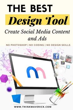 No matter what your design skill, you can quickly and easily create custom book cover, blog post images, website banners, social media posts, ads, logos, videos, highly realistic mockups, in just a few minutes. Mediamodifier is an all-in-one design and marketing platform that allow you to graphically design your visual content.You can create a design that will wow your visitors and make them remember you, even without signing in. Let's find out how. #visualcontent #marketing #socialmedia