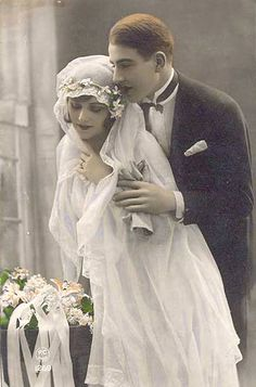 Vintage Wedding Postcard ~ So Romantic | Flickr - Photo Sharing!