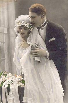 Wedding 1920's