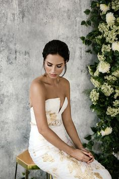 Guipurean designer Cassandra, believes in brides wearing a bridal gown that reflects their unique personality and style. Strapless Gown, Concierge, Style And Grace, Designer Wedding Dresses, Bridal Style, Bridal Gowns, Nice Dresses, One Shoulder Wedding Dress, Dress Up
