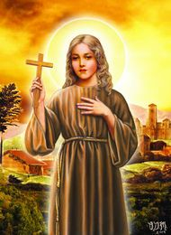 St. Rose of Viterbo lived but eighteen years, saved the Church's cause, and died a Saint. We have lived, perhaps, much longer, but with what result? Every minute something can be done for God. Time is the money for eternity; shall we waste it and have nothing to show for it? #Catholic #pray