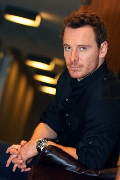 Michael Fassbender photographed by Stan Godlewski for 'USA Today', September 2013