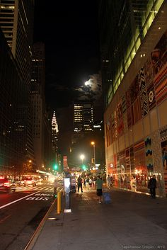 Chrysler Building and the Fool moon | Flickr - Photo Sharing!