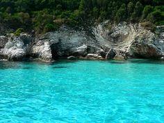 Greece, Antipaxoi Beach: