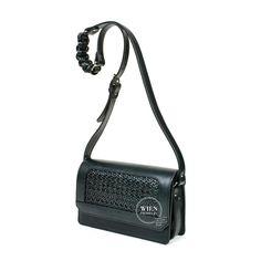 Black rattan crossbody bag from SAGAN Vienna Vienna, Rattan, Crossbody Bag, Abs, Instagram Posts, Black, Wicker, Crunches, Black People