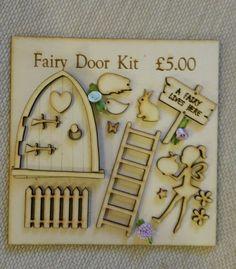 Fairy Door Kit 2 | Crafts, Woodworking, Other Woodworking Supplies | eBay!