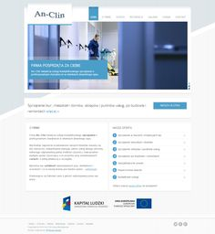 Mamy przyjemność zaprezentować Państwu nowy projekt strony internetowej www.an-clin.pl   Firma An-Clin świadczy usługi kompleksowego sprzątania o profesjonalnym charakterze w obiektach dowolnego typu.