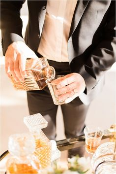 wedding bar cart | Image by Neupap Photography