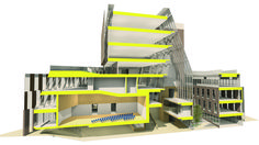 Image 8 of 12 from gallery of Finalist Proposal for First Public University in South Africa Since Apartheid. Courtesy of TC Design Architects Dear Students, School Plan, Apartheid, Architect Design, Higher Education, Proposal, South Africa, Architecture, Arquitetura