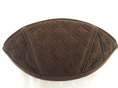 Vera Bradley Makeup Cosmetic Bag Solid Brown  #VeraBradley #cosmeticbag #makeupbag