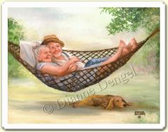 Image detail for -Dianne Dengel Paintings :: Snuggling picture by Ran87dle - Photobucket