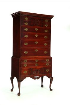 Chippendale chest of drawers leads at $25,000 on Labour Day weekend #antique #furniture