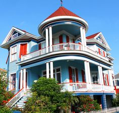 Historical Home, Galveston