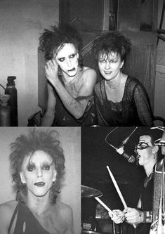 deadsonrising:  Alien Sex Fiend Between 1984-87 seen five times live - the first concerts were the best, good old days !!