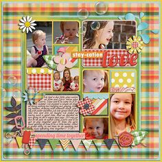 Like the multiple pic layout and use of embellishments