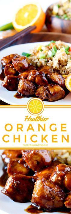 Orange Chicken is a Chinese take-out classic, but it isn't exactly the healthiest for you. This Orange Chicken recipe takes the comfort food classic and makes it a little healthier by ditching the fryer and infusing more flavor into the sauce.