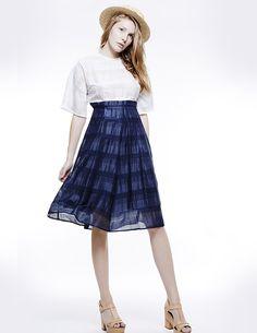 JAPANESE SLEEVE MIDI DRESS, Colección primavera-verano 15