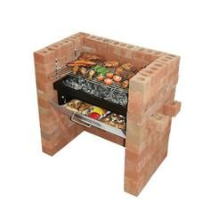 Bar-Be-Quick Built-In Charcoal Barbecue with Oven