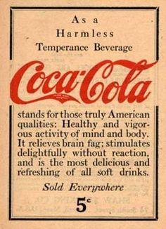 Temperance Beverage 1906