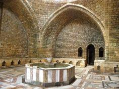 Hamman al-Jadid, Trípoli(Líbano); geométrico baño. | Matemolivares